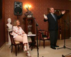 Ernest Bryll - gościem III Spotkań z Literaturą w Opinogórze (1/6)