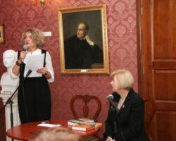 Joanna Siedlecka gościem II Spotkań z Literaturą w Opinogórze (1/10)