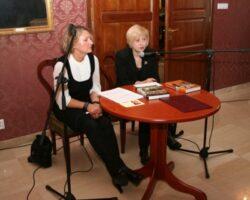 Joanna Siedlecka gościem II Spotkań z Literaturą w Opinogórze (5/10)