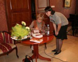 Małgorzata Szejnert – reporterka spełniona (gość VI Spotkań z Literaturą w Opinogórze ) (5/8)