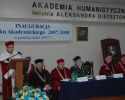 Wręczenie dyplomów doktorskich, 6 października 2007 (1/11)