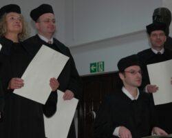 Wręczenie dyplomów doktorskich, 6 października 2007 (8/11)
